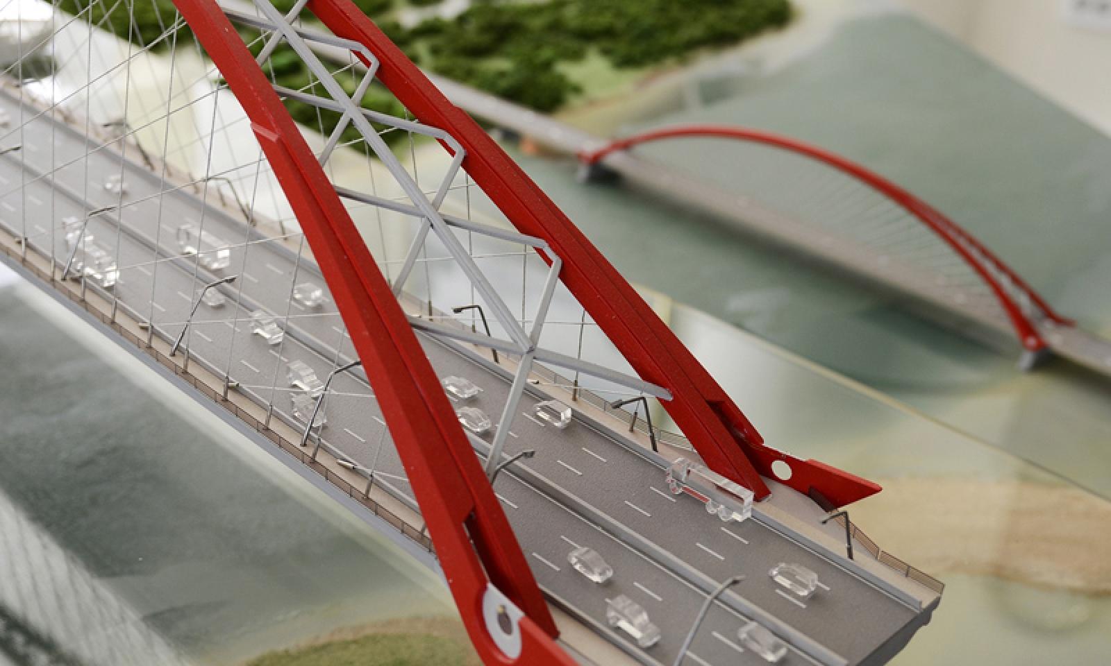 Как сделать мост из бумаги