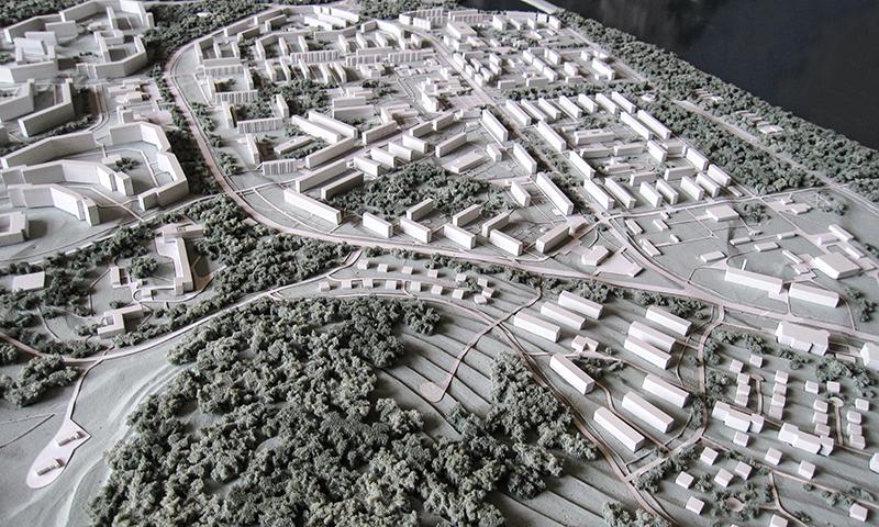 Градостроительные макеты фото